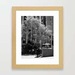 The Coffee Shop Framed Art Print