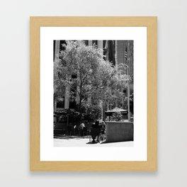 The Coffee Shop Framed Art Print