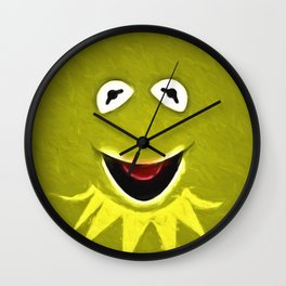 Kermit The Frog Wall Clock
