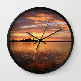 Marquette Sunset Wall Clock