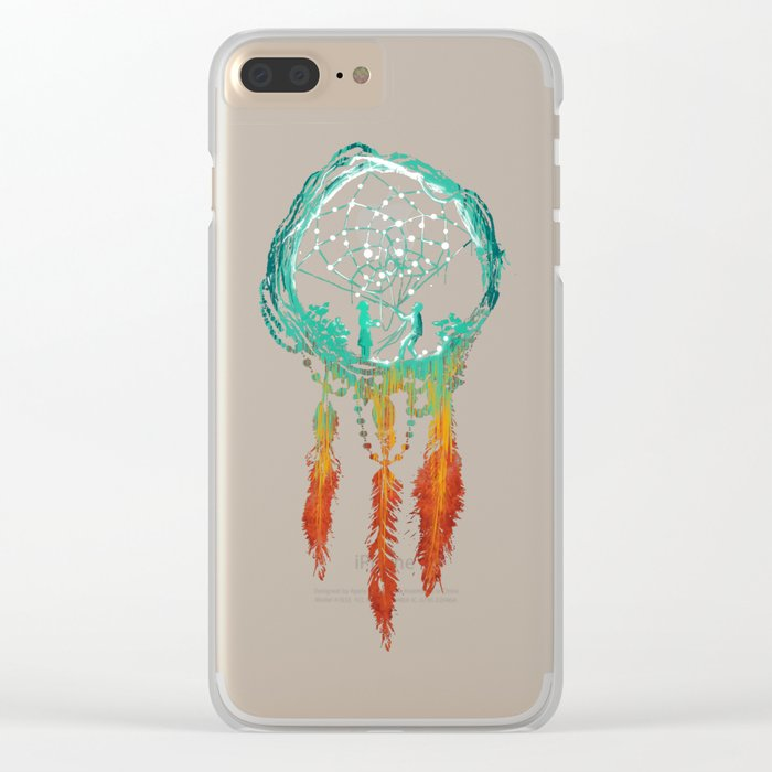 Dream Catcher (the rustic magic) Clear iPhone Case