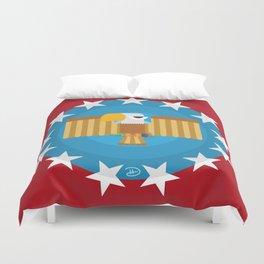 American (Red) Duvet Cover