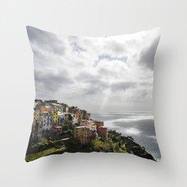 Corniglia Rise Throw Pillow