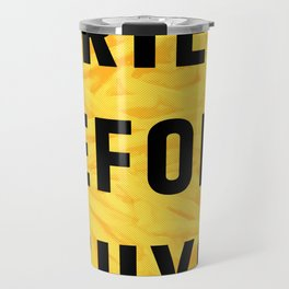 Fries Before Guys (Subtle Halftone) Travel Mug