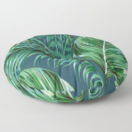 Blue and Green Floor Pillow