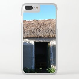 Bolivia door 2 Clear iPhone Case
