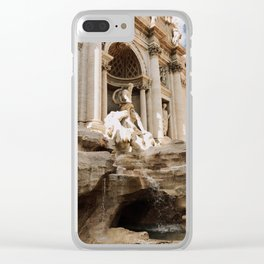 Trevi Fountain, Rome Clear iPhone Case