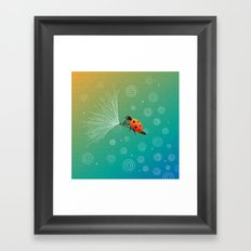Ride On The Winds Framed Art Print