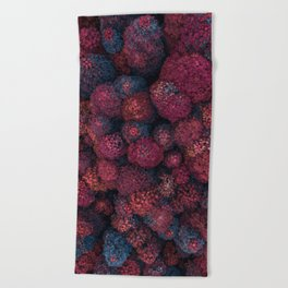 Imaginary Forest - Top View Beach Towel