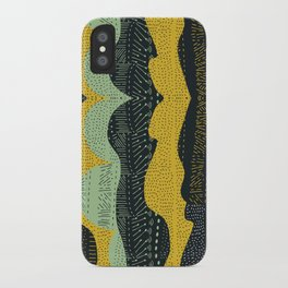 Tribal Minty iPhone Case