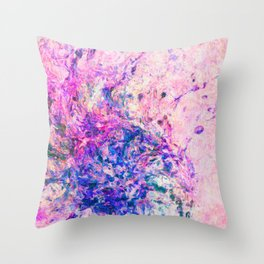 "Abstract Painting ""Flicker"" Throw Pillow"