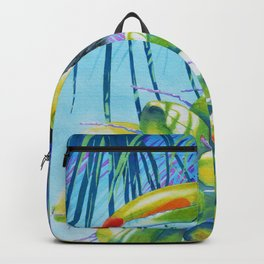 Toucan Coconuts Backpack