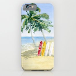 Tropical View iPhone Case