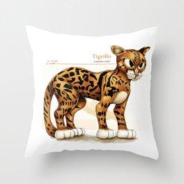 Tigrillo Throw Pillow