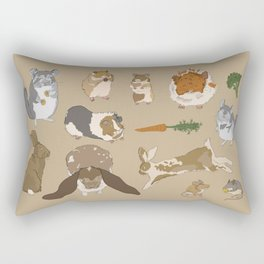 Small pets Rectangular Pillow