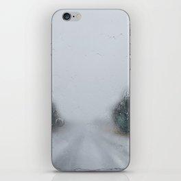 Rainy Road iPhone Skin