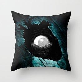 """""""The Tell-Tale Heart"""" - Edgar Allan Poe Series Throw Pillow"""
