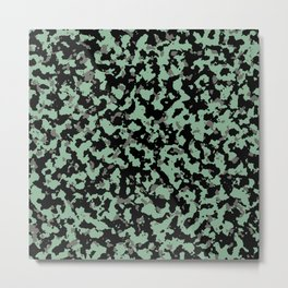 Military Camouflage Texture 4 Metal Print