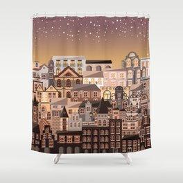 Moonlight Homes Shower Curtain