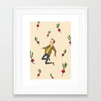 dwight Framed Art Prints featuring Dwight Schrute by NuroNuro