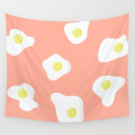 Sunny Side Up + Peach Wall Tapestry