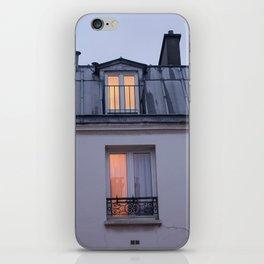 Through the window, light iPhone Skin