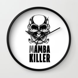 Mamba Killer Wall Clock
