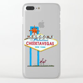 Welcome to Cheektavegas Clear iPhone Case