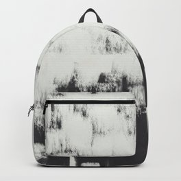 White wall strokes  Backpack