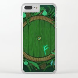 Halfling Holiday Clear iPhone Case