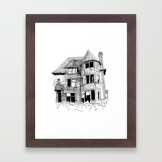 The home in your heart Framed Art Print