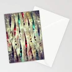Nana's Spirals (dark) Stationery Cards