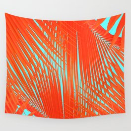 Flame Frenzy Wall Tapestry