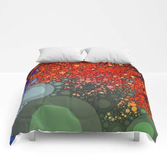 Happy - Tangerine Comforters