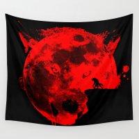 werewolf Wall Tapestries featuring Werewolf by Badamg