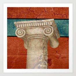 Pillar of Rome Art Print