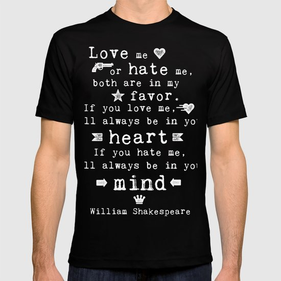love and hate shakespear 381 quotes from romeo and juliet: o brawling love o loving hate ― william shakespeare, romeo and juliet tags: love.