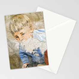 Murales in Flussio on the Isle of Sardinia Stationery Cards