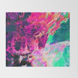 Eudokía (Abstract 42) Throw Blanket