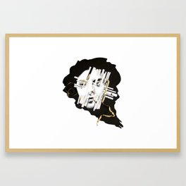 Excerpts From Unhappy Consciousness Framed Art Print