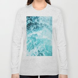 Perfect Sea Waves Long Sleeve T-shirt
