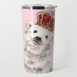 Prince Baby Polar Bear Travel Mug