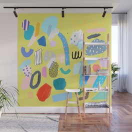 """""""Save The Earth"""" Series Modern Contemporary Art Wall Mural"""