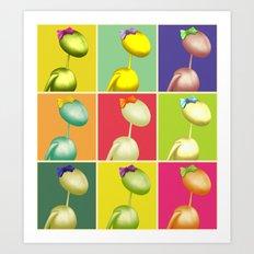 Warhol's AntWoman Art Print
