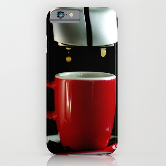 Red coffee cup  iPhone & iPod Case
