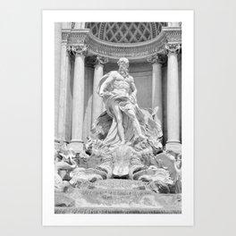 Postcards from Italy: Fontana Di Trevi Art Print