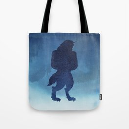 Beast Silhouette - Beauty and the Beast Tote Bag