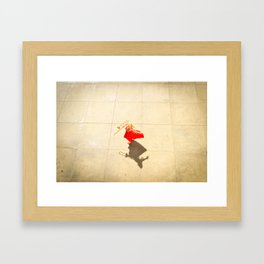 Casting Shadows Framed Art Print