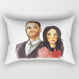 elementary: holmes and watson Rectangular Pillow