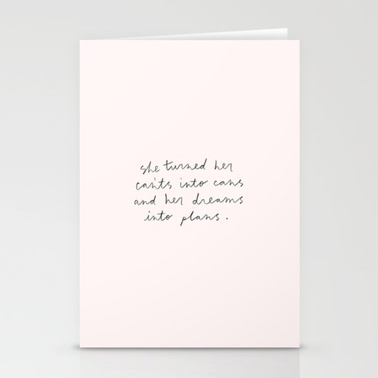 CANT'S INTO CANS Stationery Cards